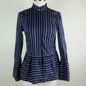 Anthropologie Belle Vere button down blouse xs